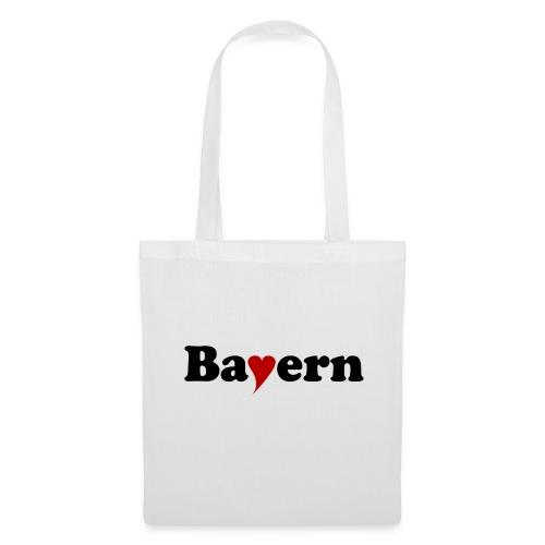 Bayern mit Herz - Stoffbeutel