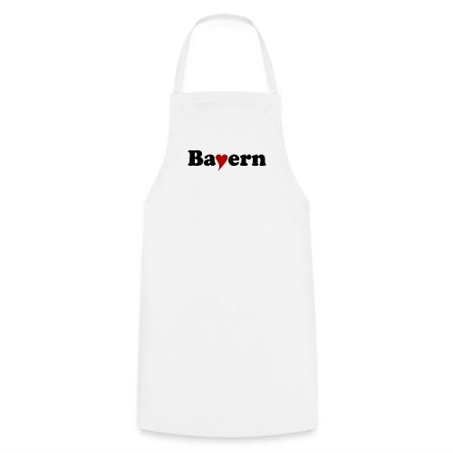 Bayern mit Herz - Kochschürze