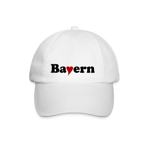 Bayern mit Herz - Baseballkappe