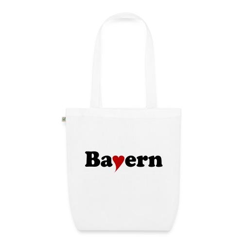 Bayern mit Herz - Bio-Stoffbeutel