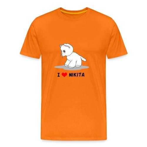 I love Nikita - Männer Premium T-Shirt