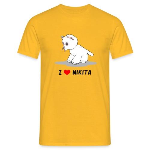 I love Nikita - Männer T-Shirt