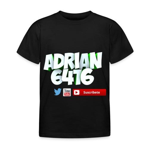 Camiseta manga corta Adrian6416 (Niñ@) - Camiseta niño