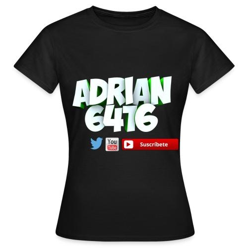 Camiseta manga corta Adrian6416 (Mujer) - Camiseta mujer