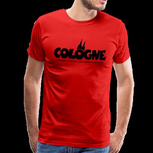Cologne Colonia Claudia Ara Agrippinensium (Schwarz) Köln Römisch - Männer Premium T-Shirt