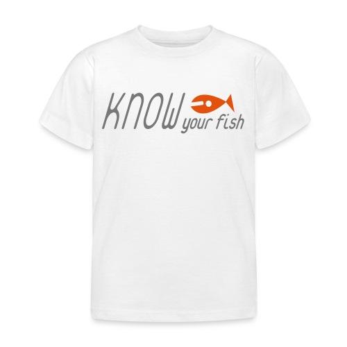 KYF Børne T-shirt 3 - 8 år Hvid - Børne-T-shirt