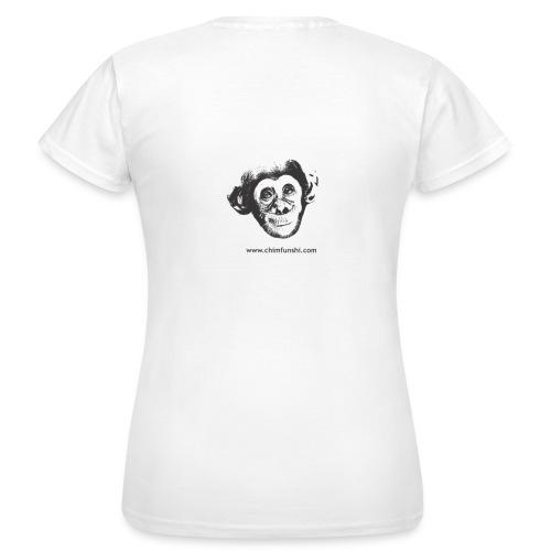 Damen T-Shirt Schimpansenbaby Ian - Frauen T-Shirt
