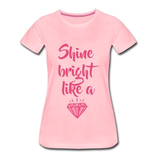 SBLD LIGHT PINK - Koszulka damska Premium