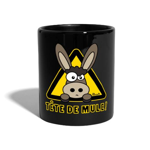 Tasse couleur Âne, Tête de Mule - Mug uni