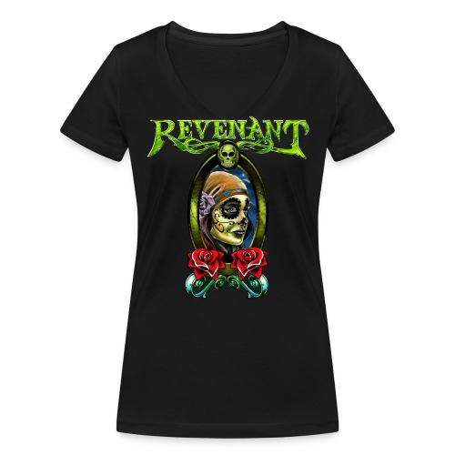 Revenant Women's V-neck - Women's Organic V-Neck T-Shirt by Stanley & Stella