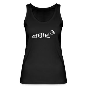 The Evolution Of Kitesurfing Woman Tank Top - Women's Organic Tank Top by Stanley & Stella