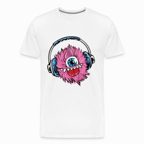Dj monster - Men's Premium T-Shirt