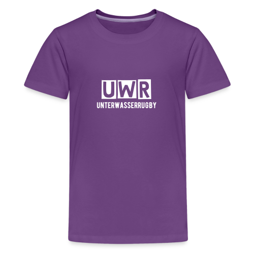 Neutrales UWR-Shirt - Teenager Premium T-Shirt
