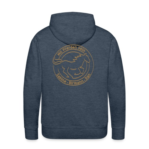 MPS Logoschriftzug & Free Runner - Men and Woman 3XL Hoody (Print: Light Brown) Women 3XL - Männer Premium Hoodie