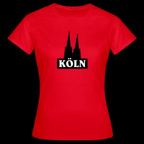 Köln Logo T-Shirt - Frauen T-Shirt