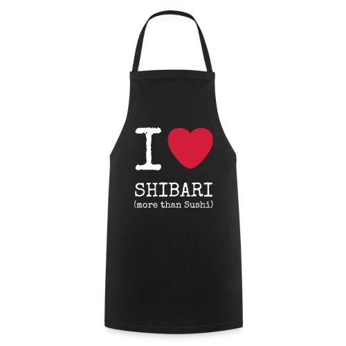 I Love Shibari (more than Sushi) - Schürze - Kochschürze