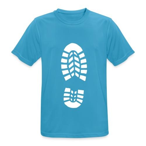 Footprints - Männer T-Shirt atmungsaktiv