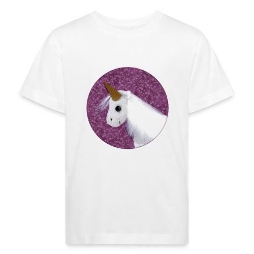 Kinder T-Shirt mit Einhorn - Kinder Bio-T-Shirt