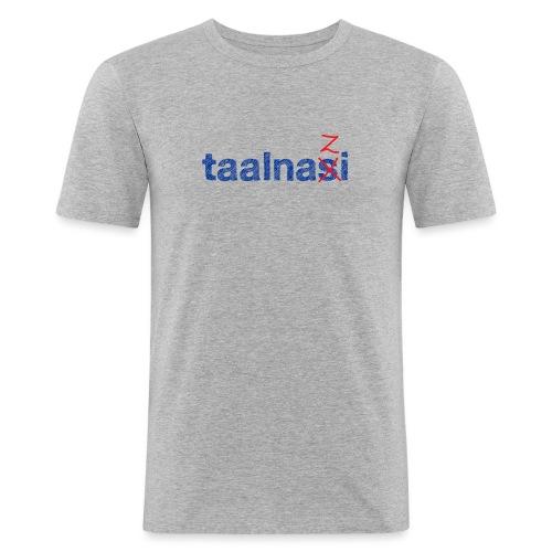 Taalnasi mannen slimfit - slim fit T-shirt