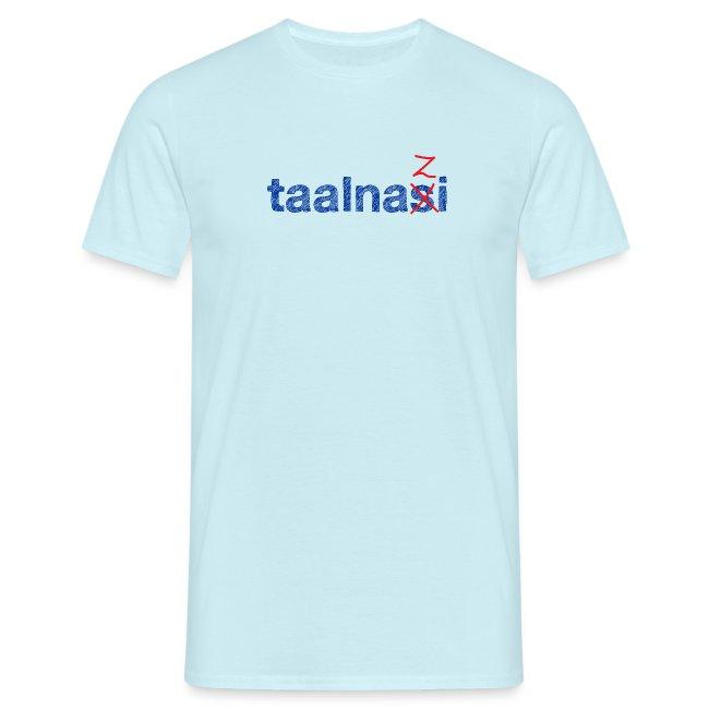 Taalnasi mannen t-shirt