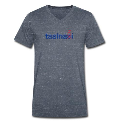 Taalnasi mannen v-hals bio - Mannen bio T-shirt met V-hals van Stanley & Stella
