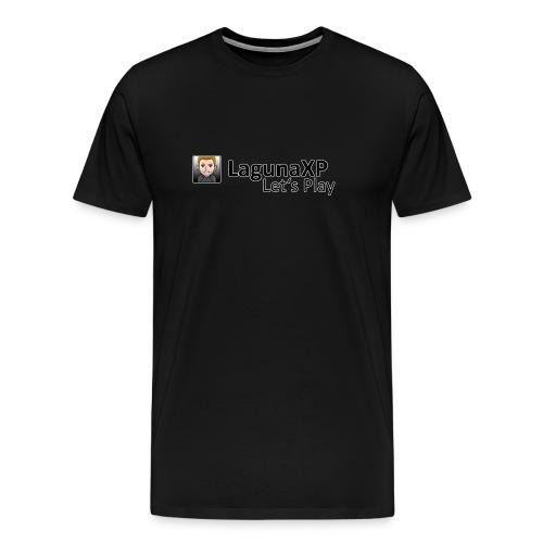 Männer Premium T-Shirt mit Let's Play Logo - Männer Premium T-Shirt