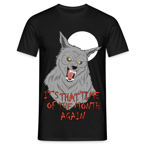 That Time of the Month - Men's T-Shirt - Koszulka męska