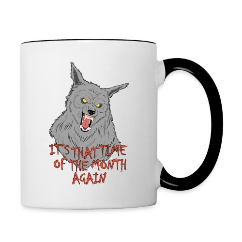 That Time of the Month - Contrasting Mug 1 - Kubek dwukolorowy