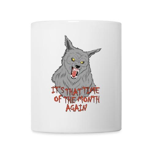 That Time of the Month - White Mug 2 - Kubek
