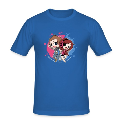 BuruNyan Shirt I - Männer Slim Fit T-Shirt