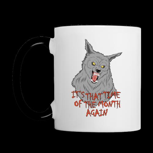 That Time of the Month - Contrasting Mug 3 - Contrasting Mug
