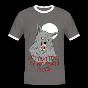 That Time of the Month - Men's Ringer T-Shirt - Men's Ringer Shirt