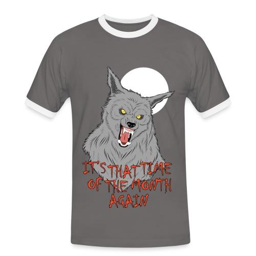 That Time of the Month - Men's Ringer T-Shirt - Koszulka męska z kontrastowymi wstawkami