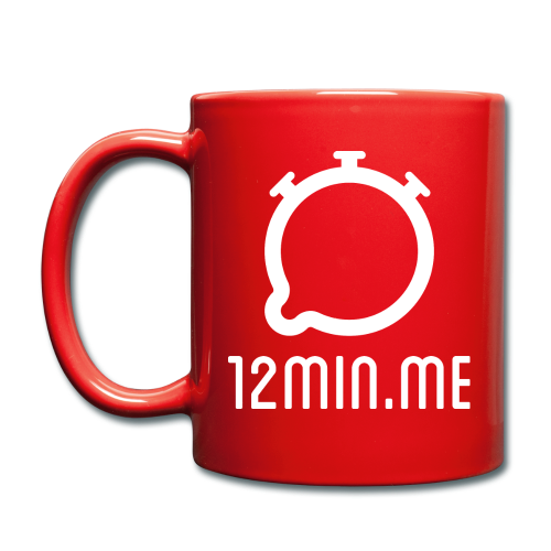 12min.me Tasse (rot) - Full Colour Mug