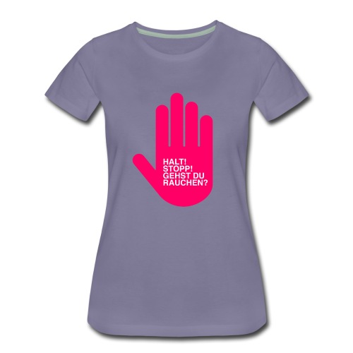 Rauchen? - Frauen Premium T-Shirt