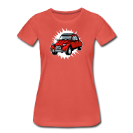 T-Shirts ~ Women's Premium T-Shirt ~ Ente 2CV