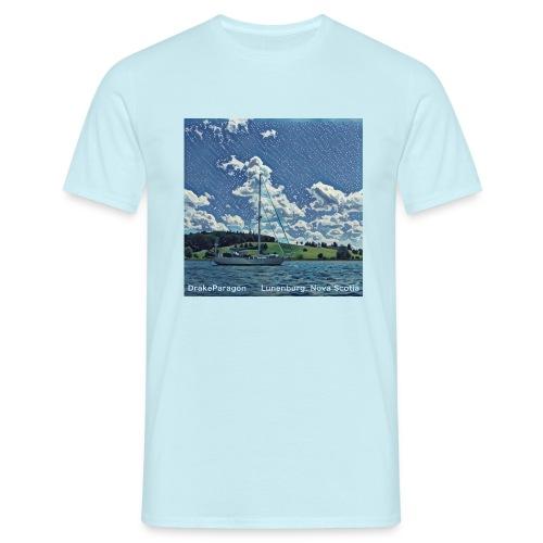 Men's T-Shirt - Lunenburg, Nova Scotia - Men's T-Shirt