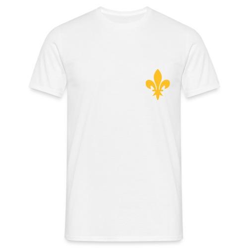 Fleur de Lys or coté coeur (11 coloris) - T-shirt Homme