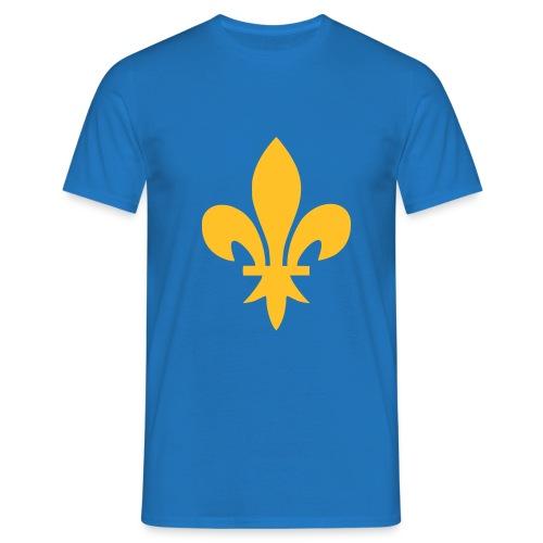 Fleur de Lys or (11 coloris) - T-shirt Homme
