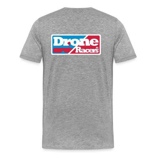 T-shirt met Logo op de borst - Mannen Premium T-shirt