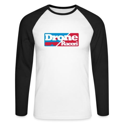 Long sleeve met Logo op de borst - Mannen baseballshirt lange mouw