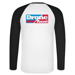 Long sleeve met Logo op de rug - Mannen baseballshirt lange mouw