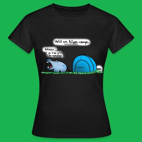Hippo-campe - T-shirt Femme