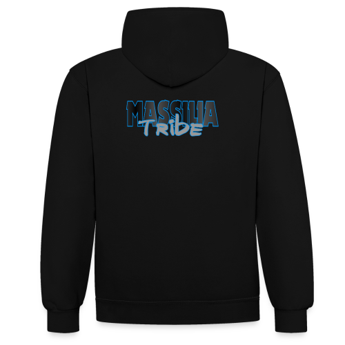 Sweat Shirt MASSILIA TRIBE (Double Colors) - Sweat-shirt contraste
