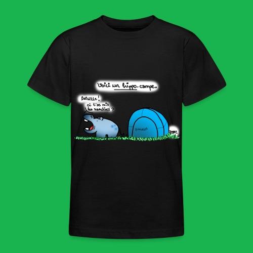 Hippo-campe - T-shirt Ado