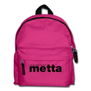 Life gets better with metta bag - Kids' Backpack