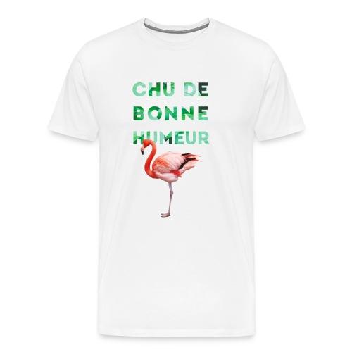 T-shirt premium pour homme CHU DE BONNE HUMEUR - T-shirt Premium Homme