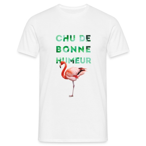 T-shirt pour homme CHU DE BONNE HUMEUR - T-shirt Homme
