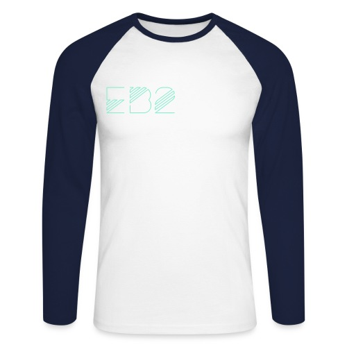E B 2 L O N G S L E E V E - Men's Long Sleeve Baseball T-Shirt