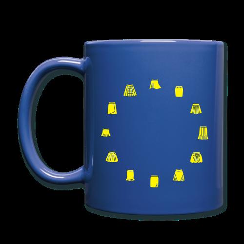 Becher: Eurocka - Tasse einfarbig